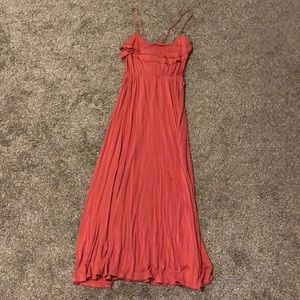 Women's Burnt orange Forever 21 medium dress